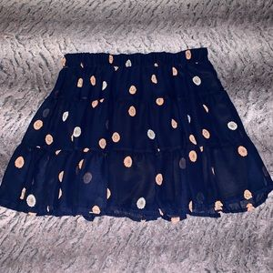 Dresses & Skirts - NEW Cute Blue Floral Skirt